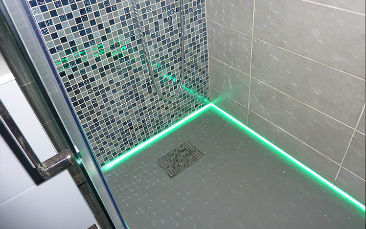 Awesome Neon Salle De Bain Led Contemporary Awesome Interior Home Satellite